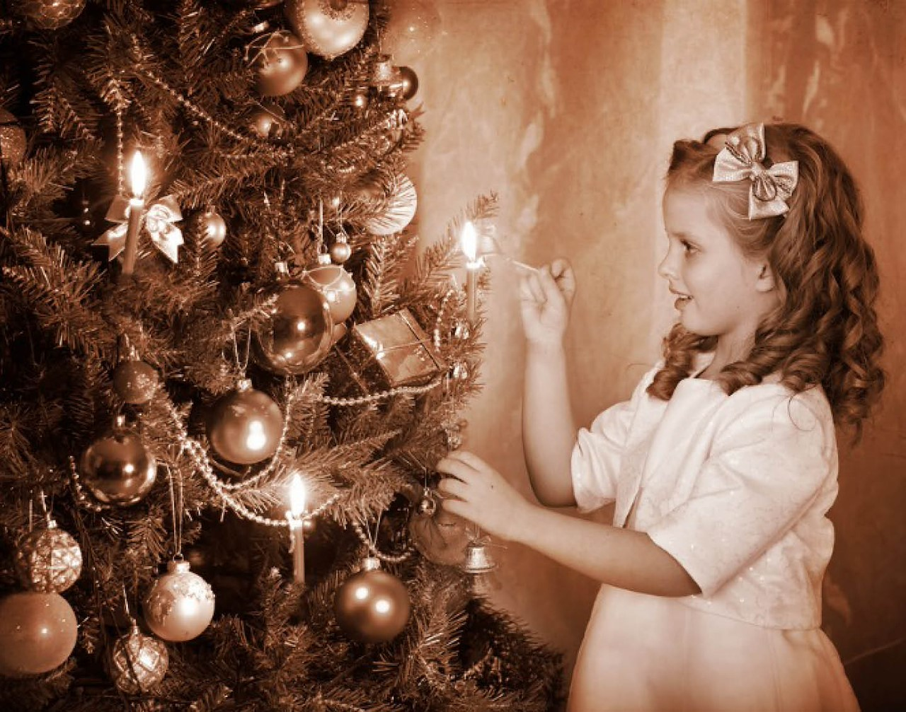 Kerstbomen: een oude traditie