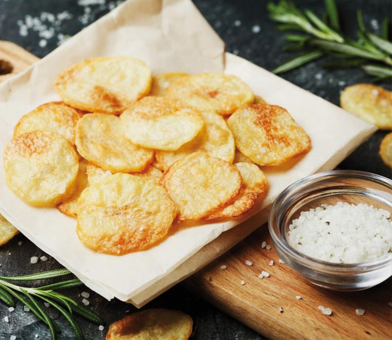 Zelf gezonde(re) chips maken