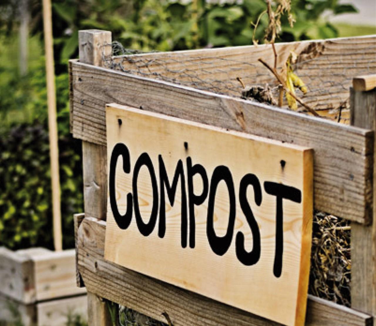 Hoe maak ik mijn eigen composthoop?