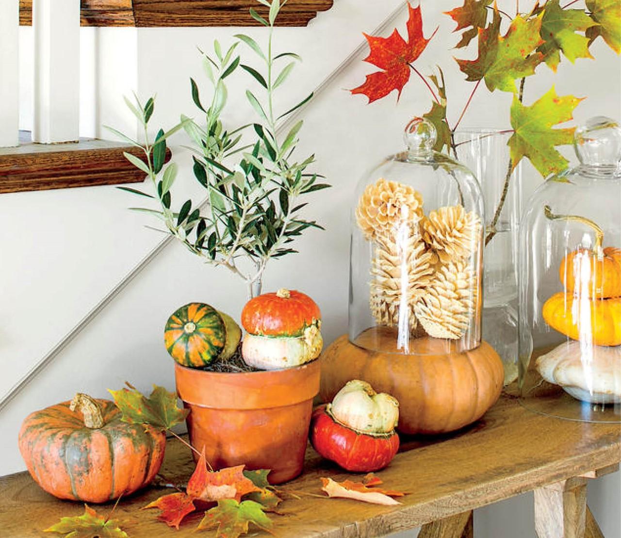 6 manieren om de herfstsfeer in huis te brengen.