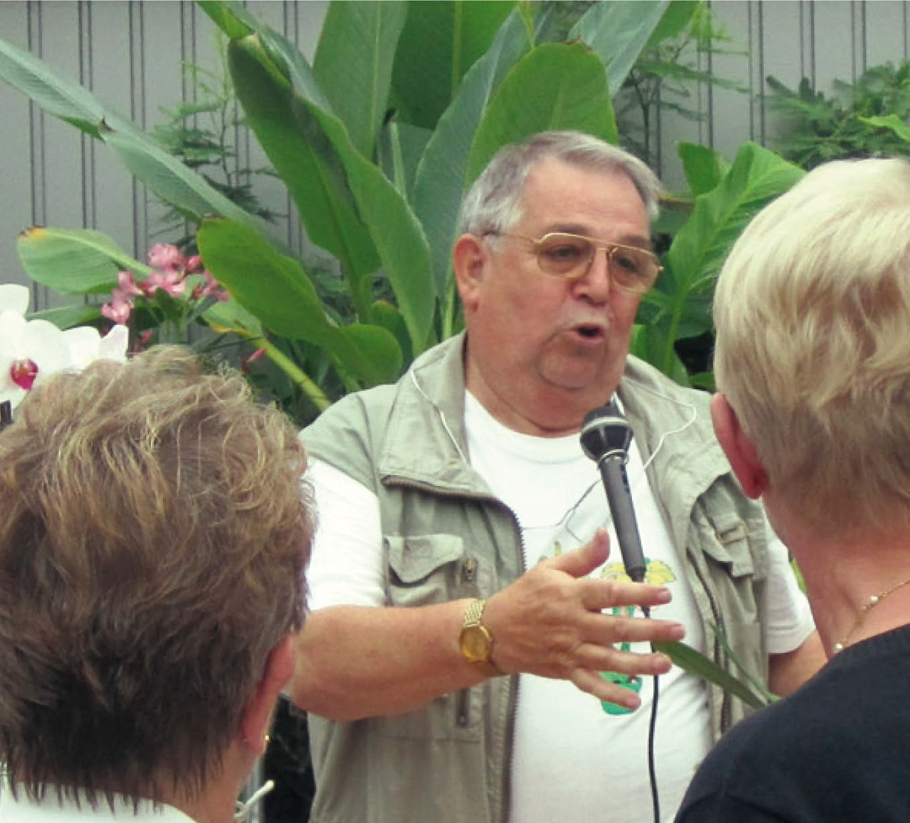Rik, orchideeënexpert: hoe het is begonnen.