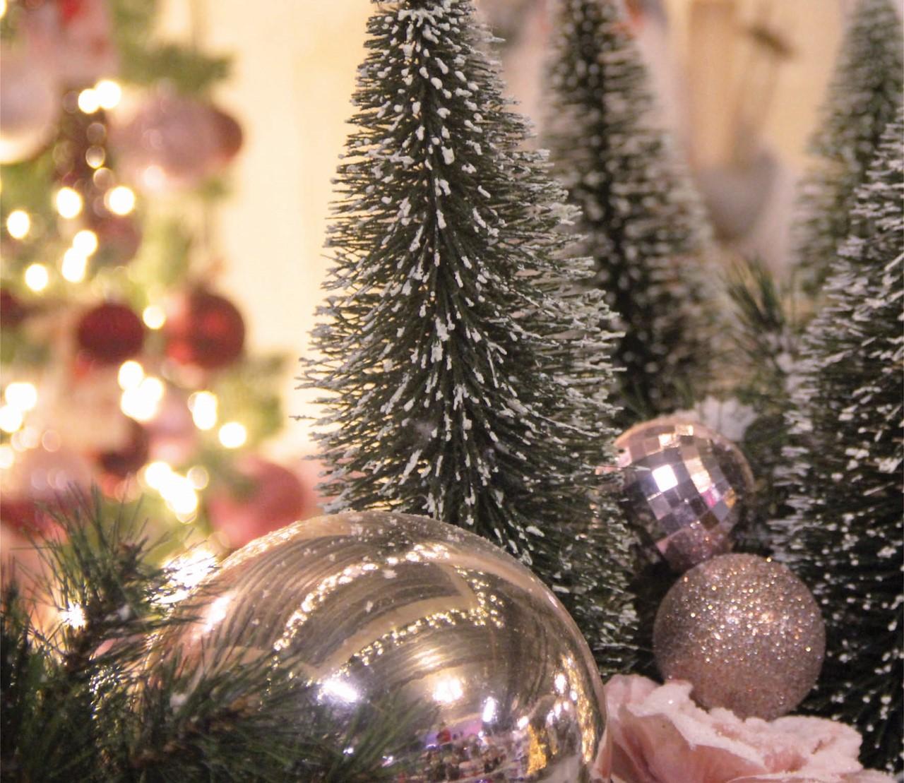 Kerstthema's 2019: roze & romantisch