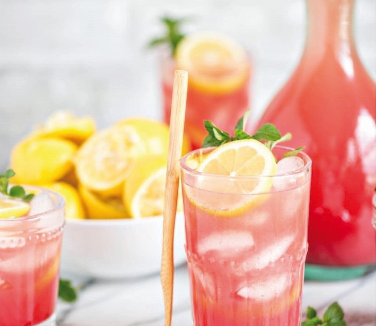 4 zomerse home-made limonades